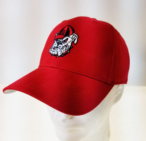 5a181deea1f Georgia Bulldogs Red Icon Cap ( 44068   6 Pack) - Turnovers