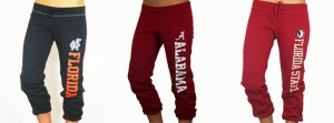 Junior Cut Capri Sweatpants In Stock!
