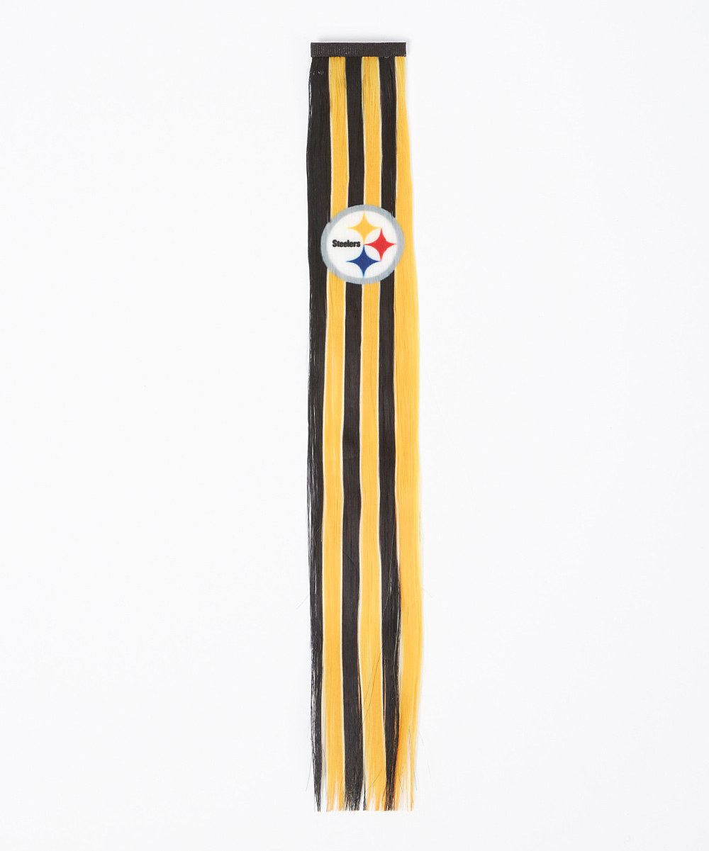 Pittsburgh Steelers Hair Clip Hair Extension 12330 6 Pack