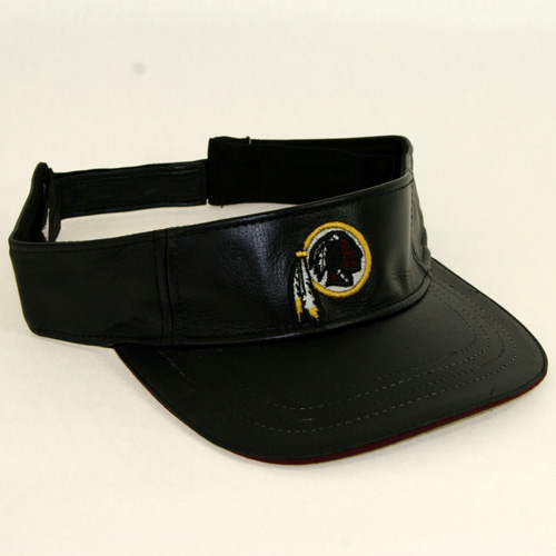 Washington Redskins Visor- Black Leather ( 39205   4 pack ... 97c83f84c0e