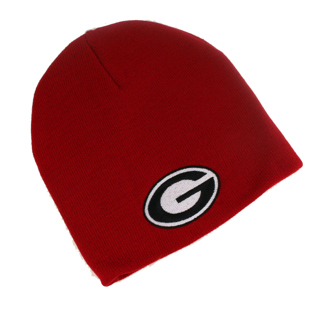 Georgia Bulldogs Knit Hat- Red Skully ( 42009   6 pack) - Turnovers ... e2682a280cc