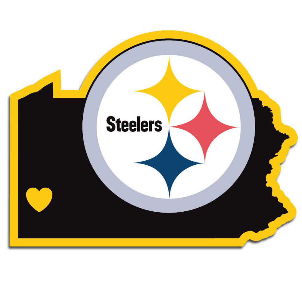 sports shoes e0739 0bec0 Pittsburgh Steelers Home State Decals (#43539 / 12 Pack )