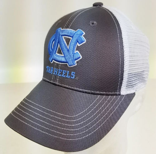... North Carolina Tar Heels- Grey Ghost Trucker Cap ( 43810   6 pack).  43810 2 4539bd1c071e