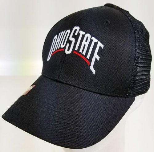 2c98683537a Ohio State Buckeyes- Predator Trucker Cap- Black ( 43811  6 pack ...