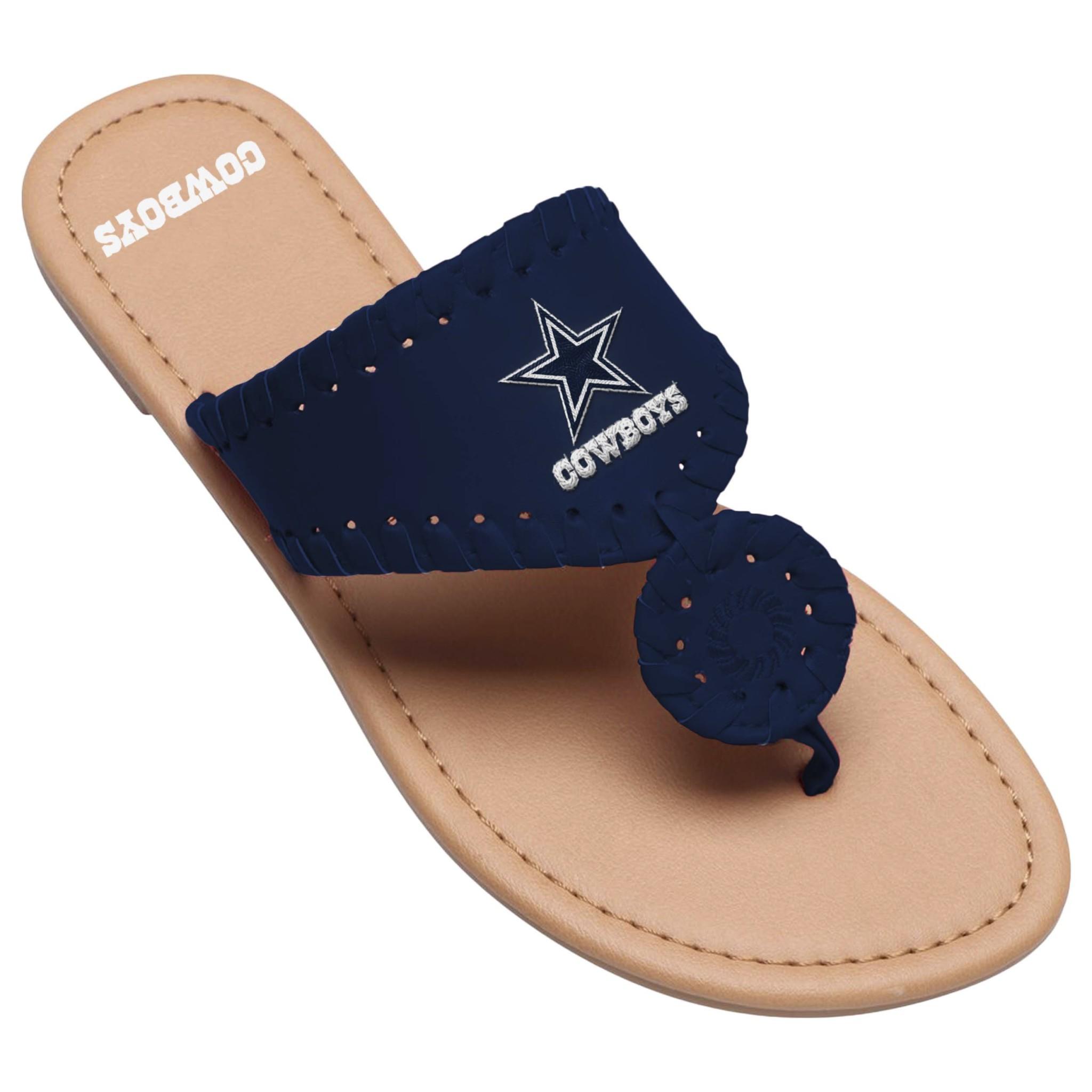 7f28de0446eb0 ... Dallas Cowboys Ladies Monotone Whipstitch Sandal- Prebook for July 2019  ( 78377   12 Pack). 78377