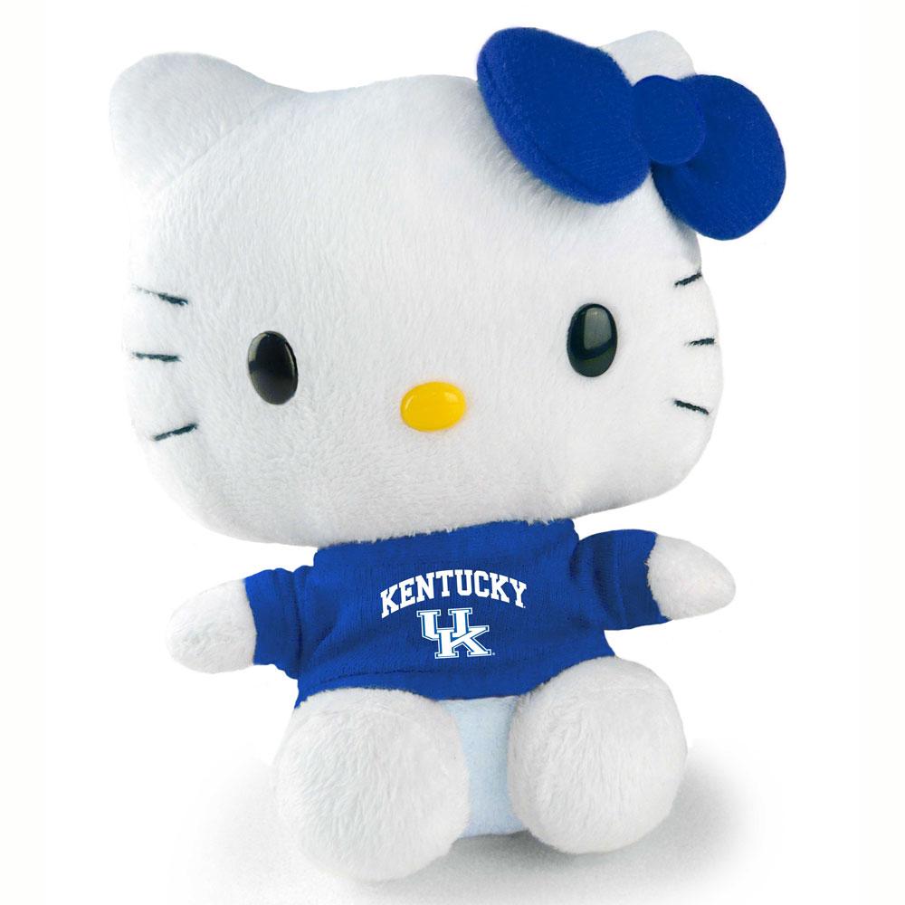 Uk University Of Kentucky Wildcats Hello Kitty 6 Inch 80126 6